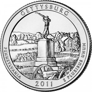 2011 Gettysburg National Military Park Quarter