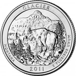 2011 Glacier National Park Quarter