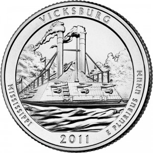 2011 Vicksburg National Military Park Quarter