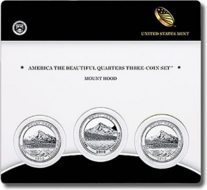 Mount Hood America the Beautiful Quarters Three-Coin Set