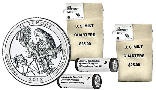 El Yunque National Forest Quarters Bags and Rolls