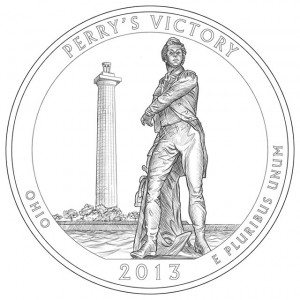 2013 Perry's Victory and International Peace Memorial Quarter Design