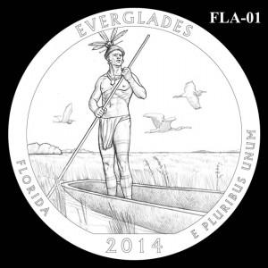 2014 Everglades National Park Quarter Design Candidate FLA-01