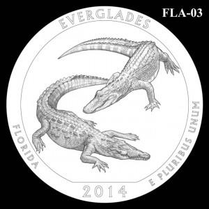 2014 Everglades National Park Quarter Design Candidate FLA-03