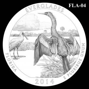 2014 Everglades National Park Quarter Design Candidate FLA-04