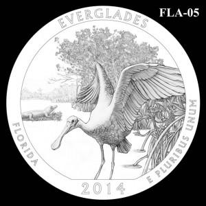 2014 Everglades National Park Quarter Design Candidate FLA-05