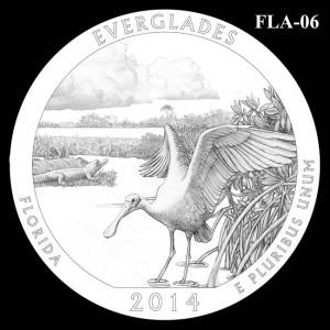 2014 Everglades National Park Quarter Design Candidate FLA-06