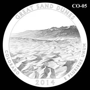 2014 Great Sand Dunes National Park Quarter Design Candidate C0-05