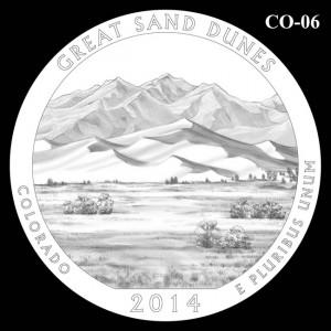 2014 Great Sand Dunes National Park Quarter Design Candidate C0-06