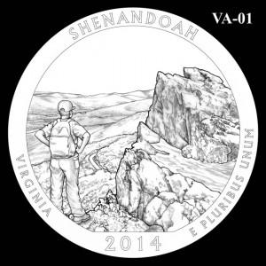 2014 Shenandoah National Park Quarter Design Candidate VA-01