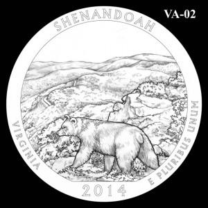 2014 Shenandoah National Park Quarter Design Candidate VA-02