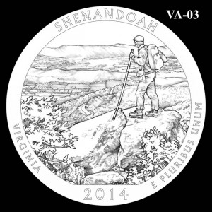 2014 Shenandoah National Park Quarter Design Candidate VA-03