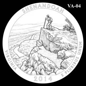 2014 Shenandoah National Park Quarter Design Candidate VA-04