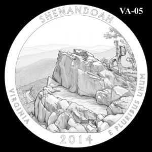 2014 Shenandoah National Park Quarter Design Candidate VA-05