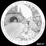 Blue Ridge Parkway America the Beautiful Quarter Design BRP-07