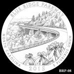 Blue Ridge Parkway America the Beautiful Quarter Design BRP-08