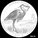 Bombay Hook National Wildlife Refuge America the Beautiful Quarter Design BH-01