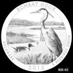 Bombay Hook National Wildlife Refuge America the Beautiful Quarter Design BH-02