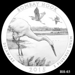 Bombay Hook National Wildlife Refuge America the Beautiful Quarter Design BH-03