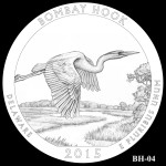 Bombay Hook National Wildlife Refuge America the Beautiful Quarter Design BH-04