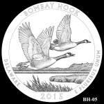 Bombay Hook National Wildlife Refuge America the Beautiful Quarter Design BH-05