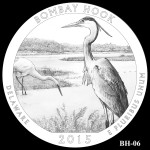 Bombay Hook National Wildlife Refuge America the Beautiful Quarter Design BH-06