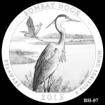 Bombay Hook National Wildlife Refuge America the Beautiful Quarter Design BH-07