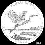 Bombay Hook National Wildlife Refuge America the Beautiful Quarter Design BH-08