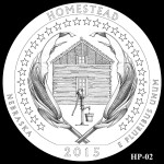 Homestead National Monument America the Beautiful Quarter Design HP-02