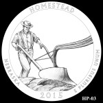 Homestead National Monument America the Beautiful Quarter Design HP-03