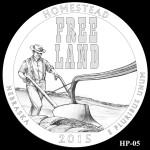 Homestead National Monument America the Beautiful Quarter Design HP-05