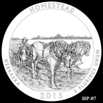 Homestead National Monument America the Beautiful Quarter Design HP-07
