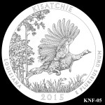 Kisatchie National Forest America the Beautiful Quarter Design KNF-05