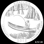 Kisatchie National Forest America the Beautiful Quarter Design KNF-08