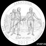 Saratoga National Historical Park America the Beautiful Quarter Design SNHP-04
