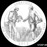 Saratoga National Historical Park America the Beautiful Quarter Design SNHP-08