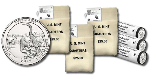 Everglades Quarters in Rolls, Sets and Bags