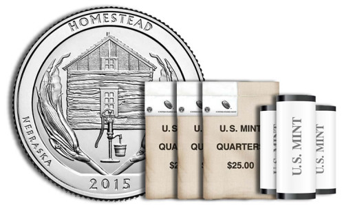 Homestead Quarters in Rolls, Sets and Bags