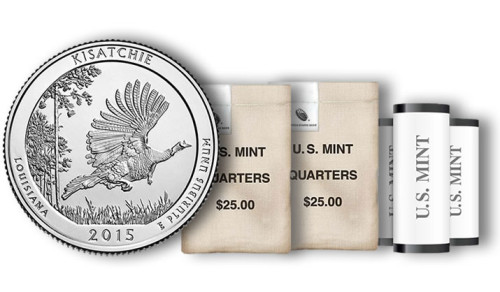 Kisatchie Quarters in Rolls, Sets and Bags
