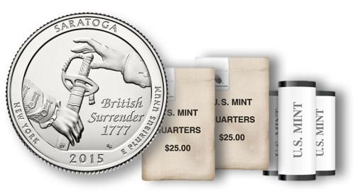 2015 Saratoga Quarter, rolls, sets and bags